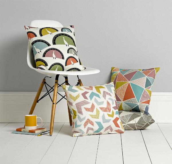 Cushions by Sian Elin from Mocha UK