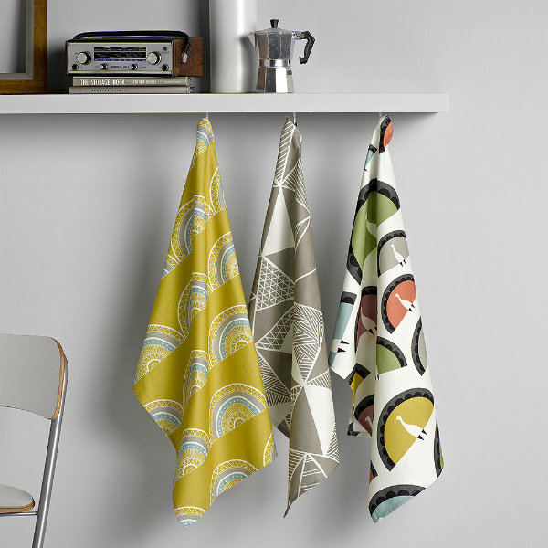 Tea towels by Sian Elin from Mocha UK
