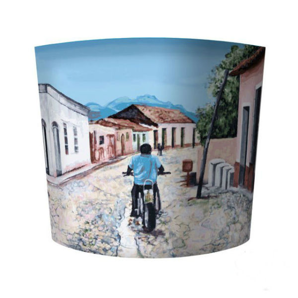 Lampshade Cuban Motorbike - lamp shades from Mocha