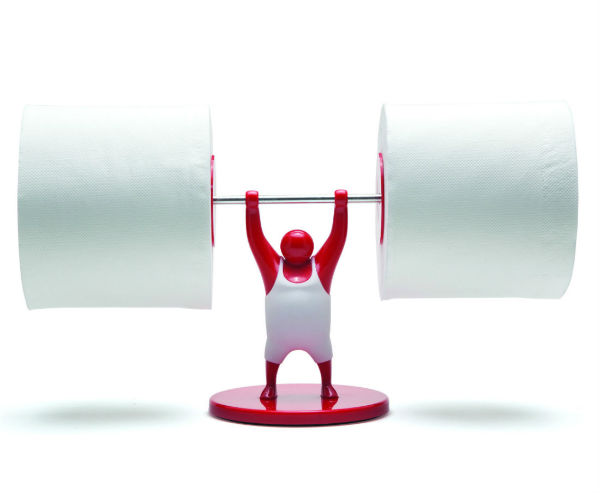Mr T Roll Holder - Toilet Roll Holder from Mocha