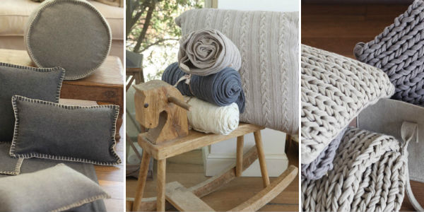 Scandi inspired felt and knitted homeware from Mocha