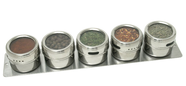Magnetic Spice Rack from Mocha