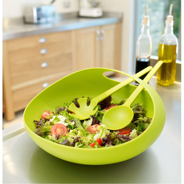 Salad Bowl and Servers by Joseph Joseph from Mocha