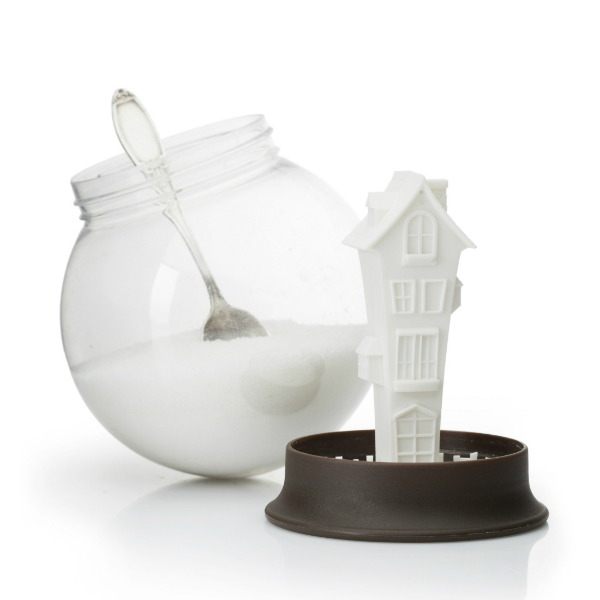 Sugar House Snow Globe Sugar Bowl from mochacasa