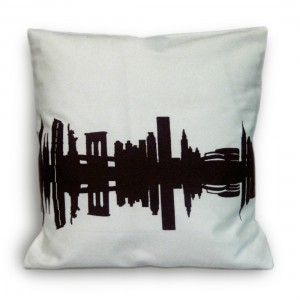 City Cushion New York from Mocha