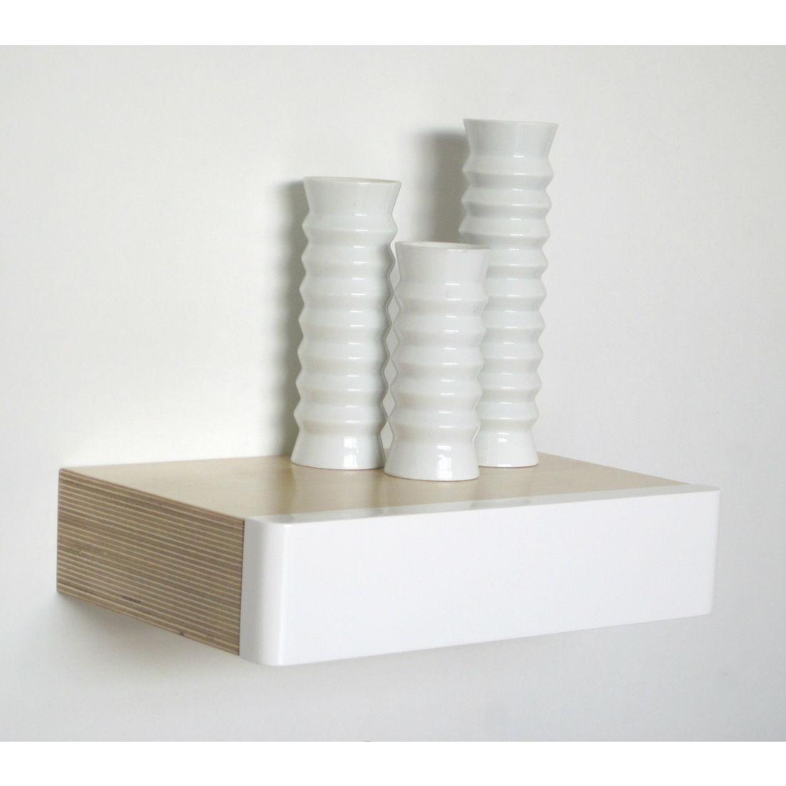 Pacco Floating Drawer Birch White Homeware Furniture