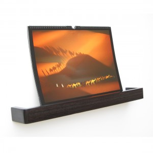 Picture Ledge Floating Shelf in dark wenge by Samuel Ansbacher for Mocha