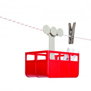 Cabina Cable Car Peg Holder from Mocha