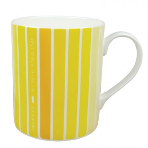 Derwent Life Mug in yellow from Mocha