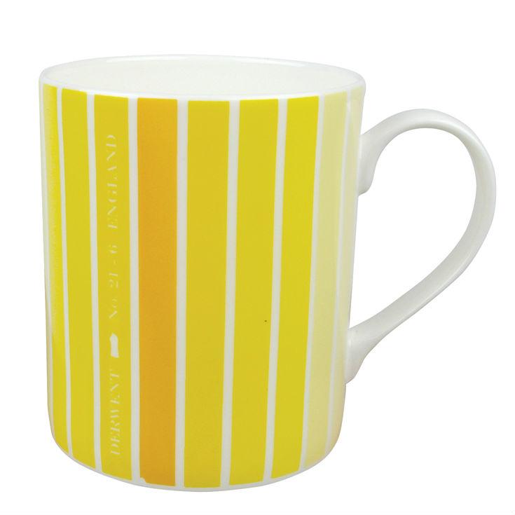 Derwent Life Mug in yellow from Mocha