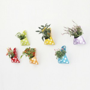 Flora Pocket and Storage Planters from Mocha