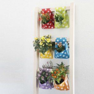 Flora Planters and Storage Pockets from Mocha