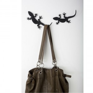 Gecko Coat Hook from Mocha Casa