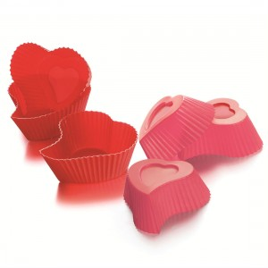 Heart Muffin Cups from Mocha