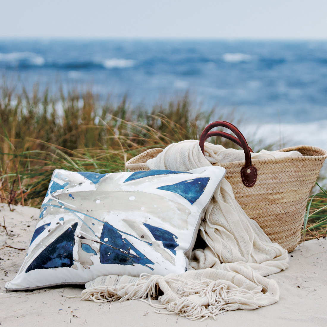 Ombre Throw Sand Homeware Furniture And Gifts Mocha