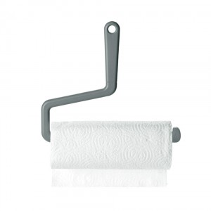 Rollo Kitchen Roll Holder in grey from Mocha
