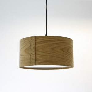 Tab Light Shade in Oak by John Green from Mocha