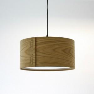 Tab Light Shade in Oak by John Green from Mocha
