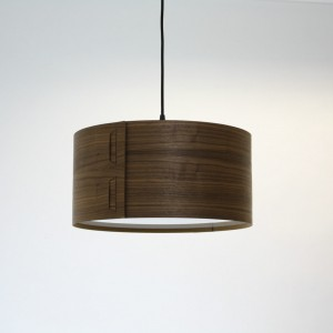 Tab Light Shade in Walnut by John Green from Mocha