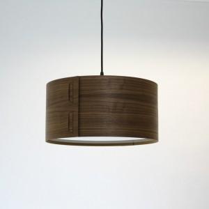 Tab Light Shade in Walnut by John Green from Mocha