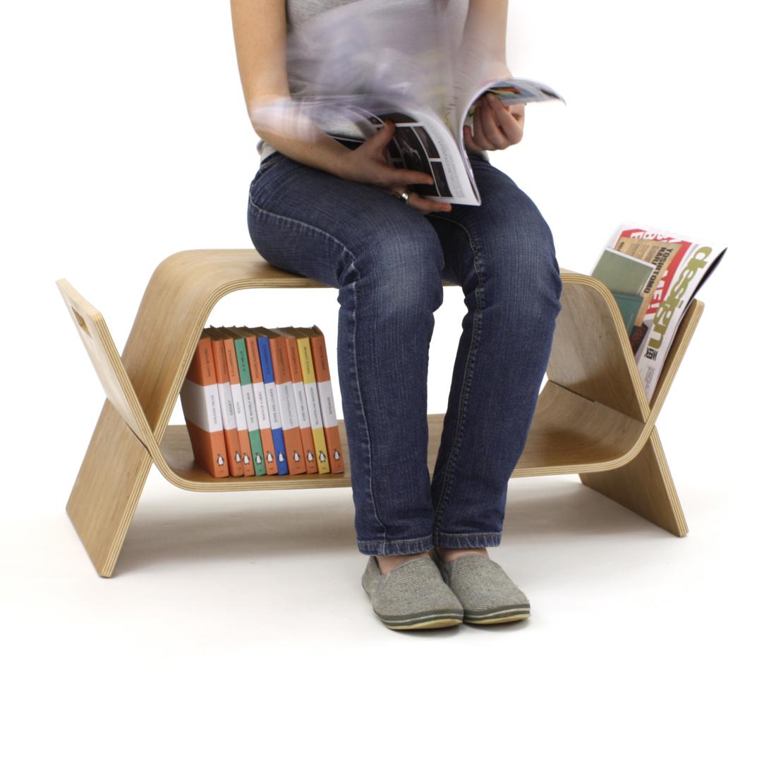 Embrace Coffee Table Bookshelf Amp Bench Birch Homeware