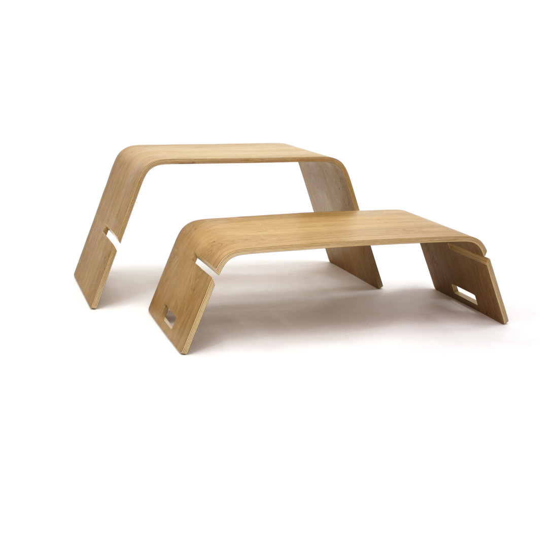 Embrace Coffee Table Bookshelf Bench Birch Homeware Furniture