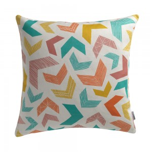 Chevrons Cushion by Sian Elin from Mocha