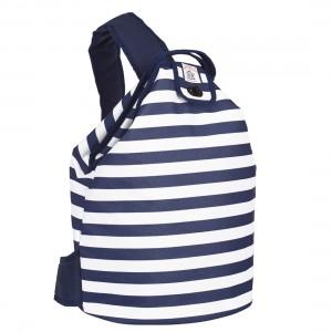 Breton Strip Duffel Cool Bag from Mocha Casa