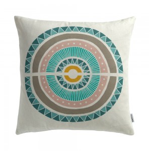 Inlay Cushion by Sian Elin from mochacasa.com