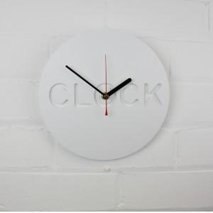 Minimalist Clock Clock from mochacasa.com
