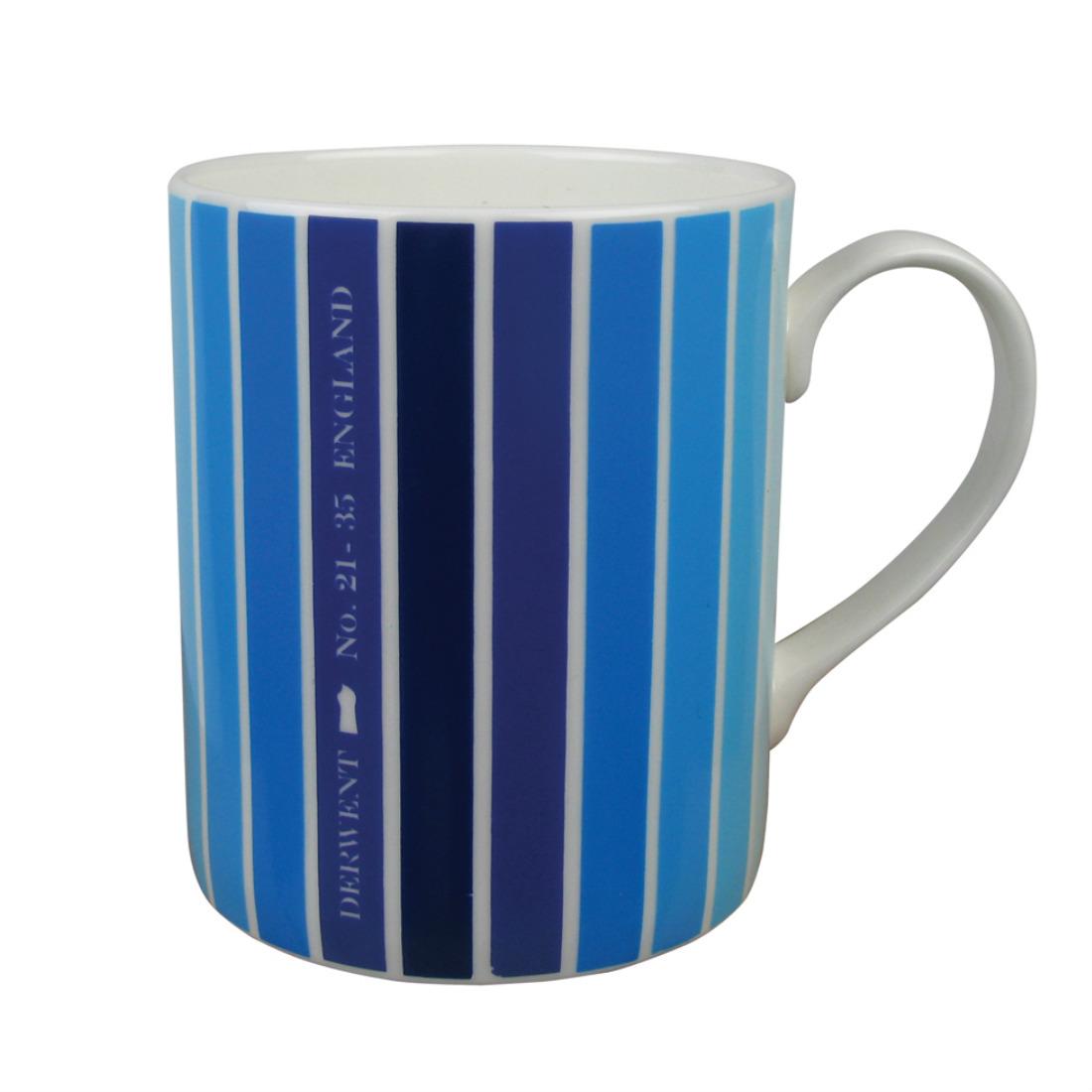 Ombre Mug Blue from mochacasa.com