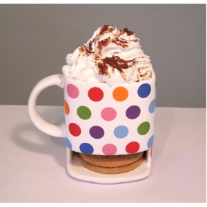 Polka Dot Dunk Mug from Mocha Casa