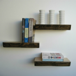 Floating Shelves from Mocha Casa