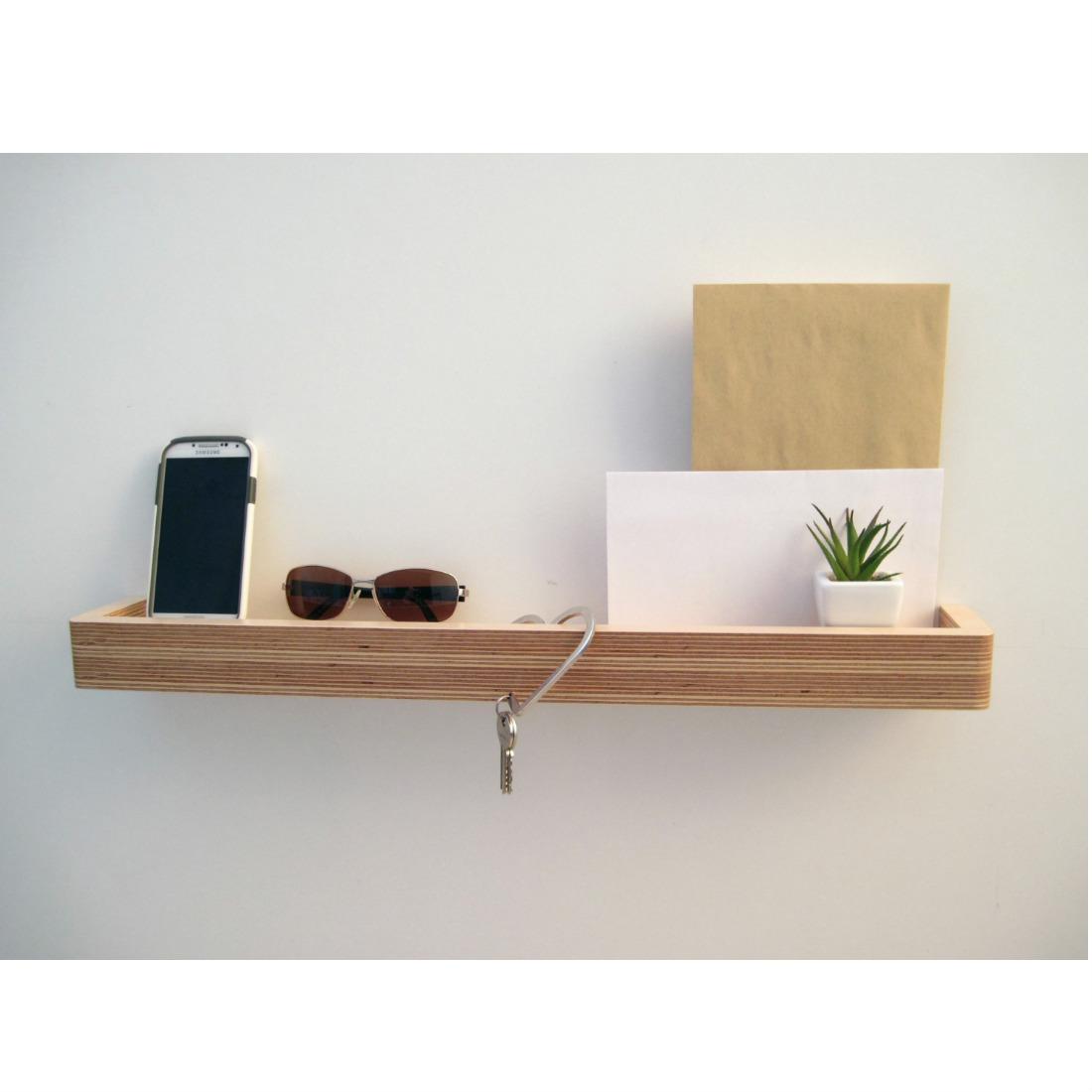 Birch Bedroom Furniture Slimline Floating Shelf Homeware Furniture And Gifts