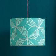 teal-rosette-lamp-shade-sian-elin-mochacasa
